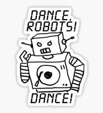 Dance, Robots! Dance! Sticker Sticker