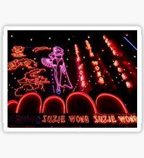 Suzie Wong's bar on Soi Cowboy Sticker