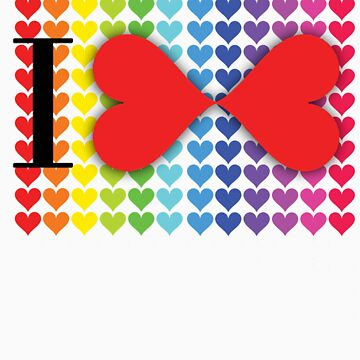 Love & Love by Shirts4Equality