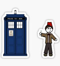 Dr Who (11) car sticker family (also on shirts) Sticker