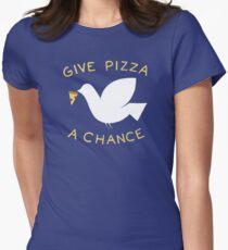 War & Pizza Women's Fitted T-Shirt