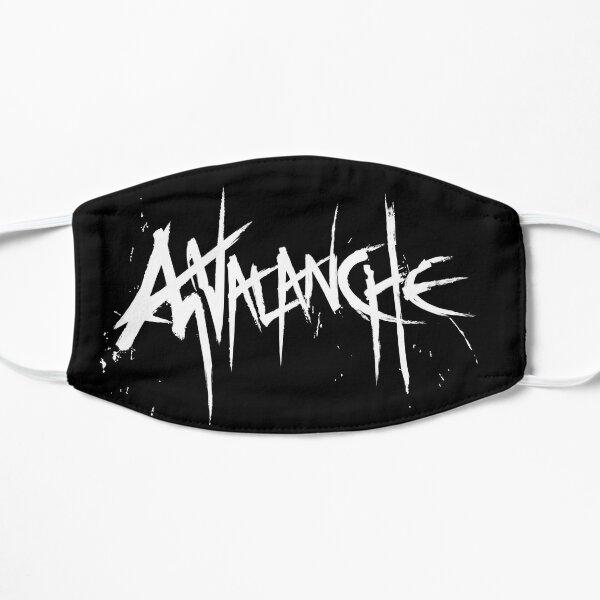 Avalanche (White Text) Flat Mask