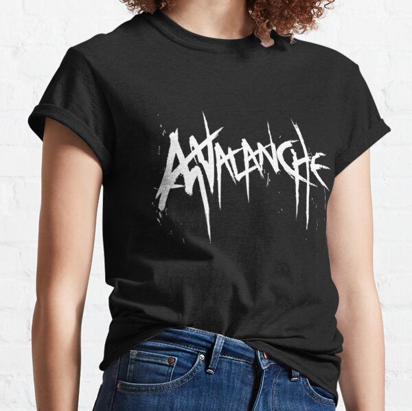 Avalanche (White Text) Classic T-Shirt
