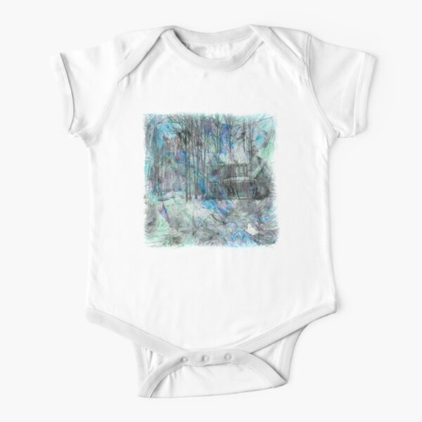 The Atlas Of Dreams - Color Plate 22 Short Sleeve Baby One-Piece