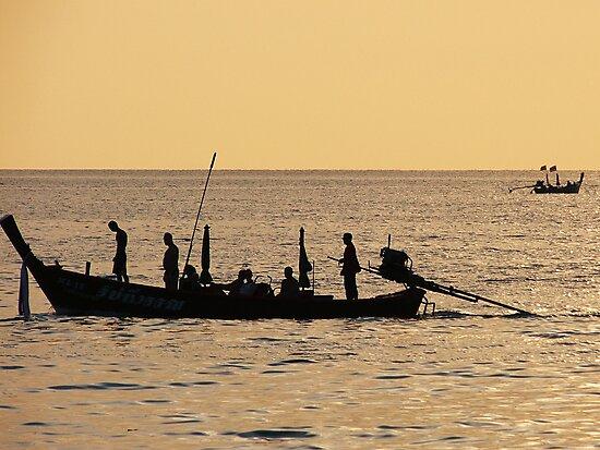 Fishing Boat, Thailand by KUJO-Photo
