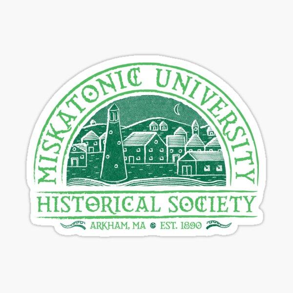 Miskatonic Historical Society Sticker