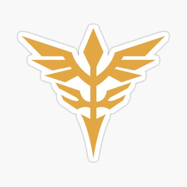 Gundam Neo Zeon Sinanju - Logotipo Pegatina