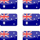 Flags of the World - Australia x6 by CongressTart