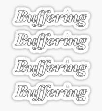 Buffering Sticker