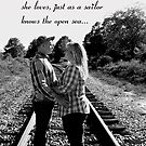 A woman knows the face of the man she loves, just as a sailor knows the open sea... by Julie Conway