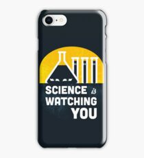 Science is Watching You iPhone Case/Skin