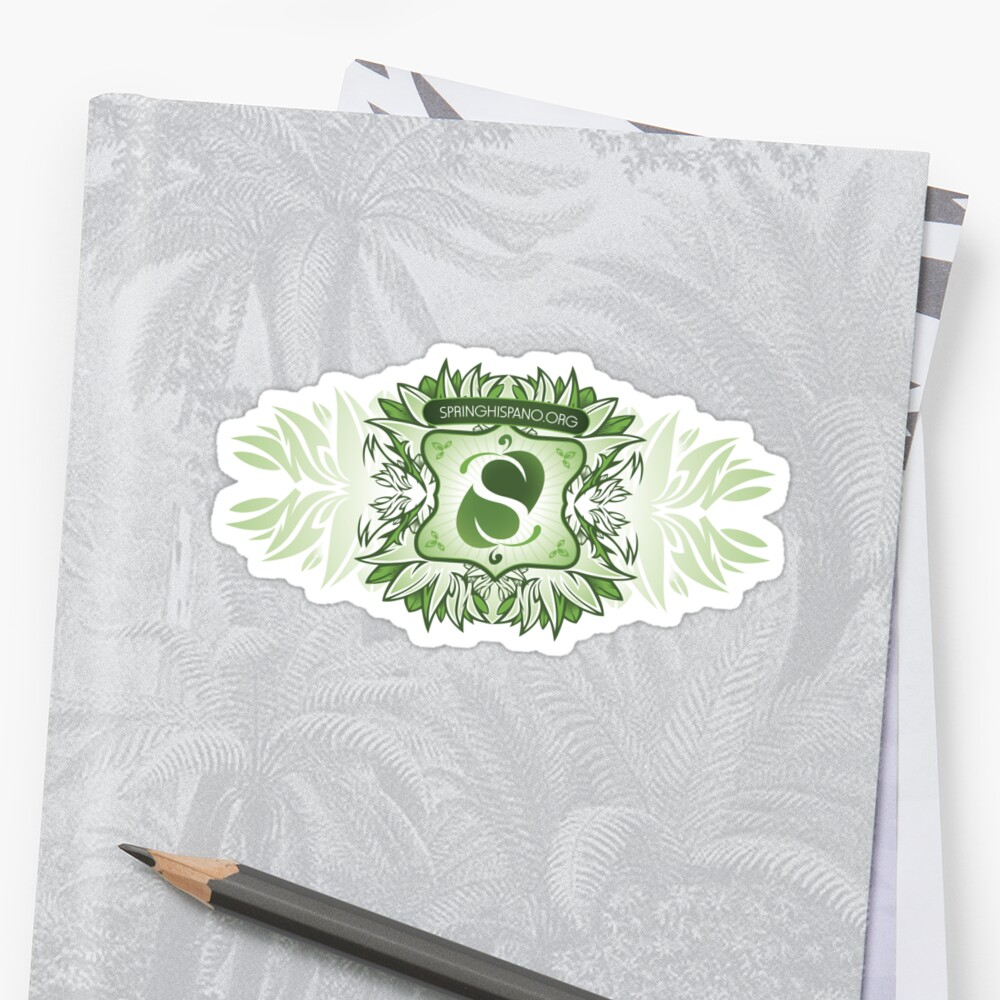 SpringHispano Sticker by neodevelop