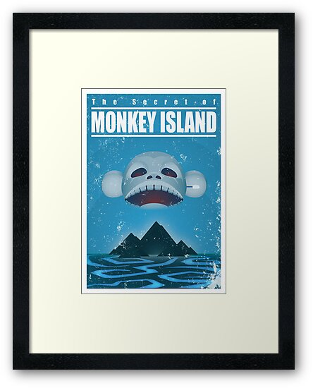 Monkey Island Travel Poster by severodan
