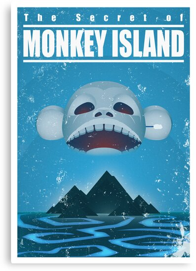 Monkey Island Travel Poster by severodan