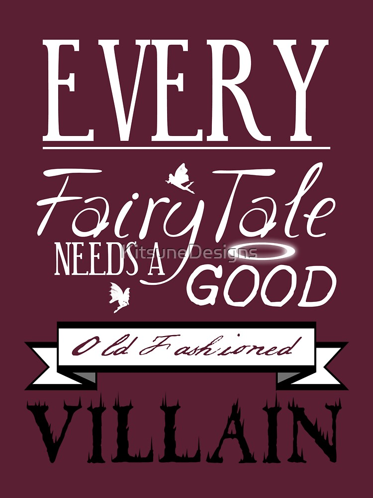 Old Fashioned Villain. | Women's T-Shirt