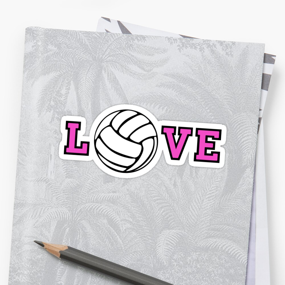 Volleyball Love by shakeoutfitters