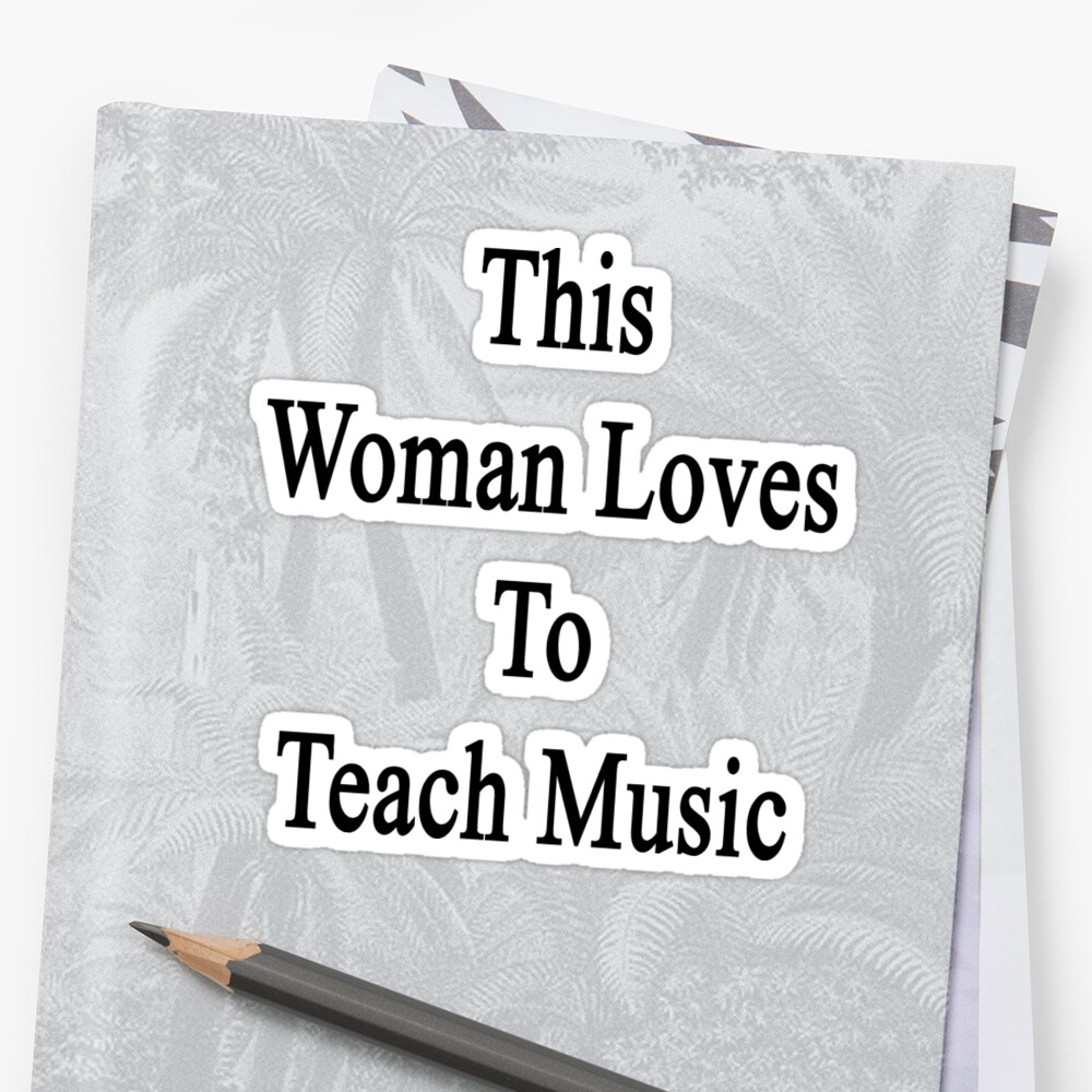 This Woman Loves To Teach Music  by supernova23