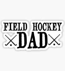 Field Hockey Dad Sticker