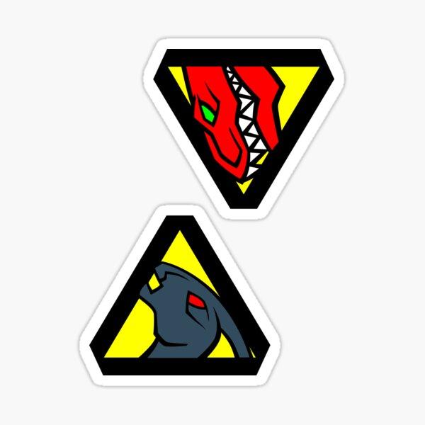 #1 -#2 Sticker