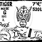 Tiger Mask G Has A Posse by JaySticLe