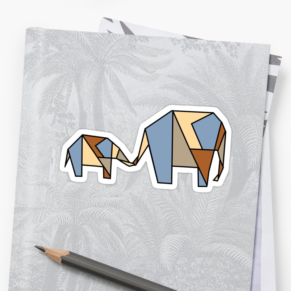 Stained Glass Elephant by markus731