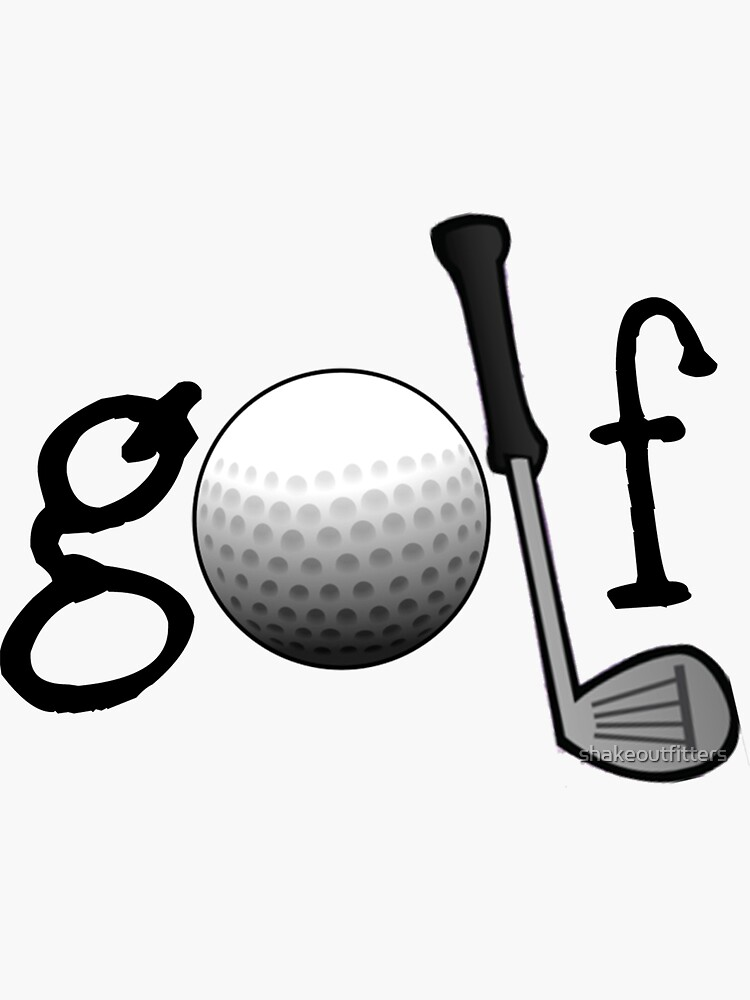 Golf design by shakeoutfitters