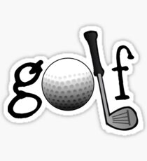 Golf design Sticker