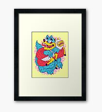 Deceive To Receive  Framed Print