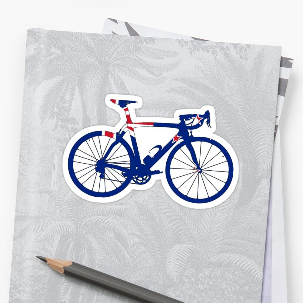 Bike Flag New Zealand (Big) by sher00