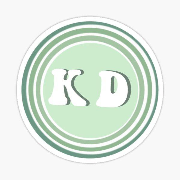 KD sticker Sticker