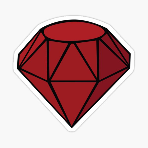 Ruby Stickers Redbubble