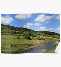 Yorkshire landscape Poster