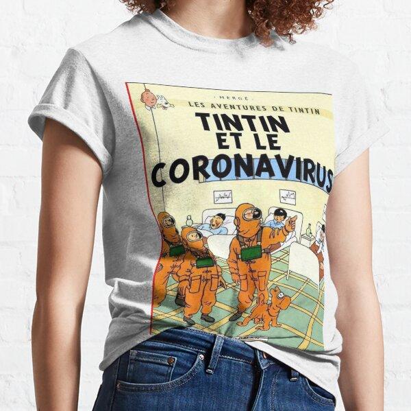 Tintin Adventures T-Shirt Cornavirus 2020 Classic T-Shirt