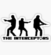 The Interceptors (black version) - Top Gear Sticker