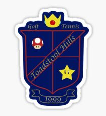 Toadstool Hills Country Club Sticker