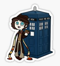 4th Doctor Sticker