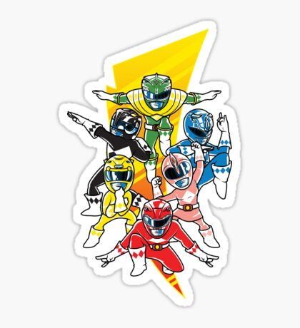 Morphin' Force Sticker