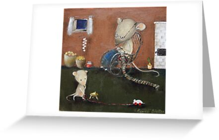 Scarf For Grandson by Monica Blatton