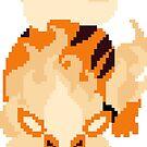 Pixel Arcanine by pixelatedcowboy