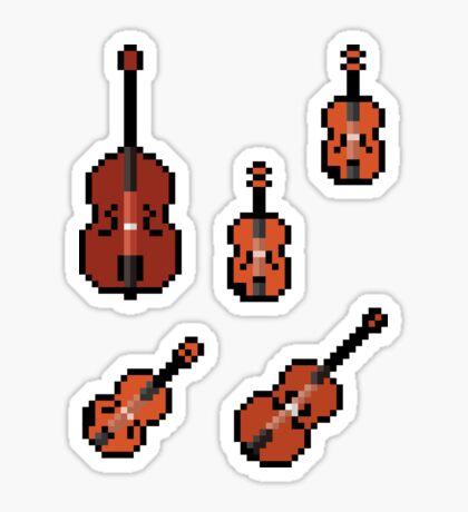 Mini Pixel Strings - Set of 5 Sticker