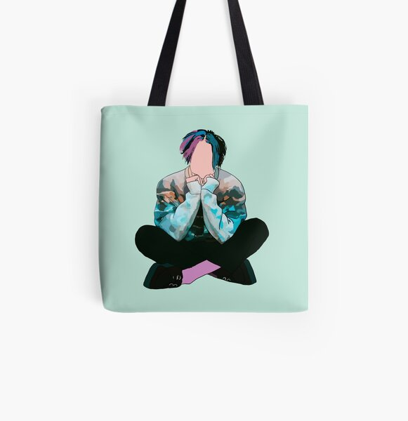 Yungblud Weird All Over Print Tote Bag