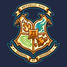 Republic School of Bending - STICKER by WinterArtwork