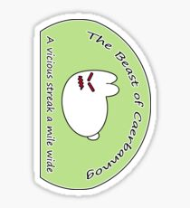 The Beast of Caerbannog (Sticker) Sticker