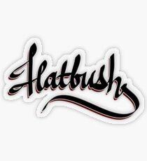 Flatbush Transparent Sticker