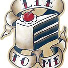 "Portal - ""Lie to Me"" - Sticker by ianleino"