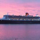 """""""sun rise queen mary 2 by keithbutcher"""