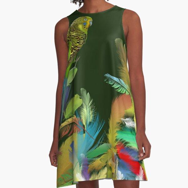 FEATHERS A-LINE DRESS A-Line Dress
