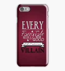 Good Old Fashioned Villain iPhone Case/Skin