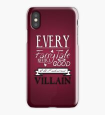 Good Old Fashioned Villain iPhone Case