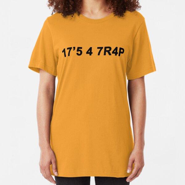 Solar Opposites - 17'5 4 7R4P it's a trap Slim Fit T-Shirt